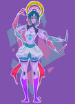 Ethiopian Opal fusion by clockworkViper