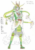 Date Masamune Normal God From by Sengoku-no-Tensou