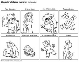 Character meme by Wolfangkun