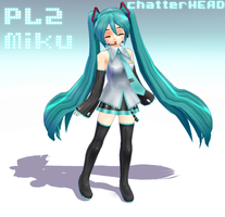 Pl2 Miku by chatterHEAD