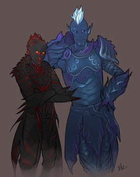 Commission: Sylvari trolling by Serpentwined