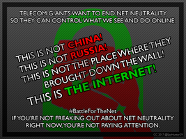 #BattleForTheNet - Banned in the ISP by SpyHunter29