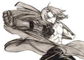 Edward Elric by FireattackK