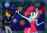 Happy (late) new year 2016 by K-NIGHT-WIND