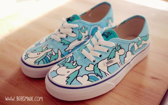 Unicorn Vans by Bobsmade