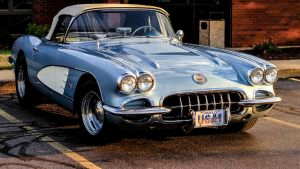 1958 Corvette by 707ArtWorks