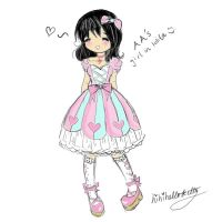 Lolita: Quick Sketch by hihihellokitty