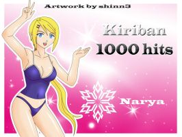 Kiriban 1000 hits - Narya by shinn3