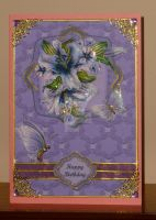 Aunt Gert's 80th Birthday Card by blackrose1959