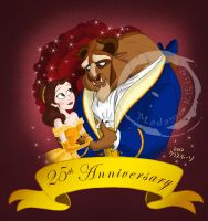 25th Anniversary of BatB by Madame-Kikue