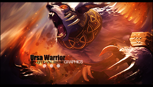 Ursa Warrior Smudge by jaybak