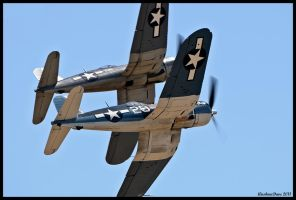 Corsairs by AirshowDave