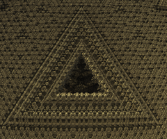 Tantalizing Fractals - 12 - Woven Triangle by krompulos