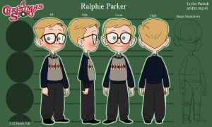 Ralphie Model Sheet by TitanicGal1912