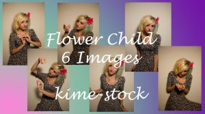 Flower Child 4 by kime-stock