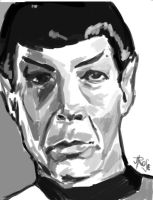 Mr. Spock by Jodee