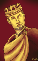 Tumblr Palette Meme: Alistair by Karlika