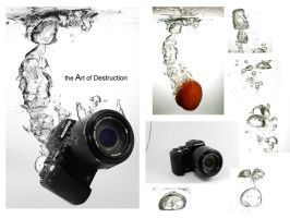 Underwater camera by digital-HT