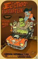 Electric Frankenstein Sweden by blitzcadet