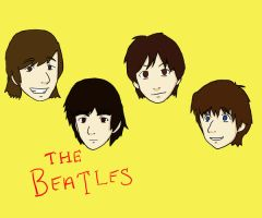 The Beatles by the-alchemyninja