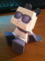 ROMMY Panda Mood  Paper craft model by AWildRose