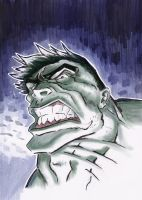 Hulk by JohnHughesArt