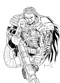CABLE AND HOPE COMMISSION by UltimateRubberFool