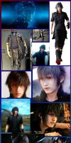 ffxv NOCTIS wall copilation by REALzeles