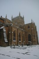 Dunfermline Abbey in Winter by Beef-Stock