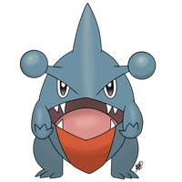 Gible by DFReyes