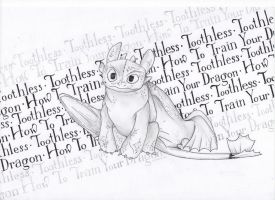Toothless by girlinplaits