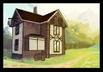 Medieval house by toonimated