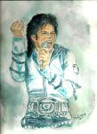 Michael Jackson Bad Tour by mjdrawings