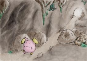 whismur's adventure by Pickled-witch