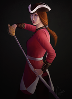 The Redcoat by Empsuli