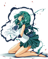 Sailor Neptune by NaeNeko