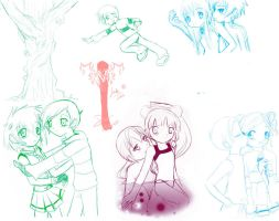 PPG Z DN.A  DH : sketches 4 by DarkHalo4321