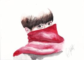 Suho by Gviolett