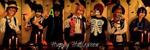 UtaPri Halloween Party by plu-moon