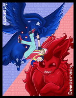 Twitch Plays Pokemon Print by NamiOki