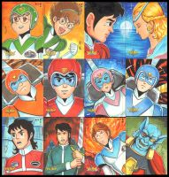 5FINITY VOLTRON CARDS SET1 by AHochrein2010
