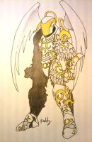 Archangel armour by Pearl-Shadow