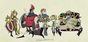 League of Legends by inkinesss