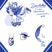 Dewlettes ADOPTABLE #6 STANDARD UNCOMMON CLOSED by Ipun