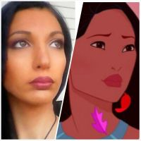 Pocahontas istant make up by valentinachan