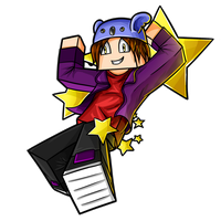 Minecraft Avatar - ShopiStar by GoldSolace