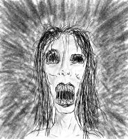 Screaming Dead Girl by twitcher