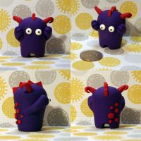 Vance the Timid Monster by TimidMonsters