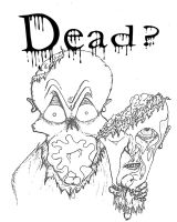 title page dead comic by menzo