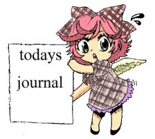 todays journal by AYANAMAY